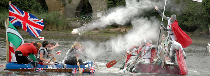 Knights in a waterborne crusade