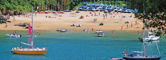 Smalls beach - One of the livelier South Devon beaches on our list