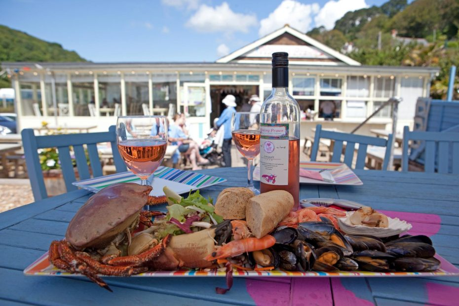 The Winking Prawn in Salcombe