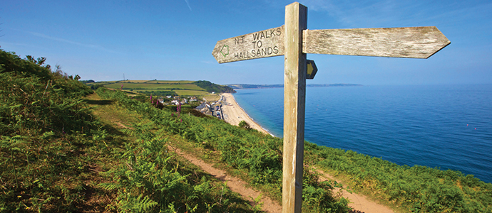 One of the most popular Devon walks with tourists and residents