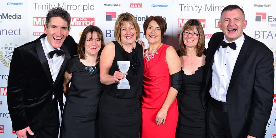 British Travel Awards 2014.