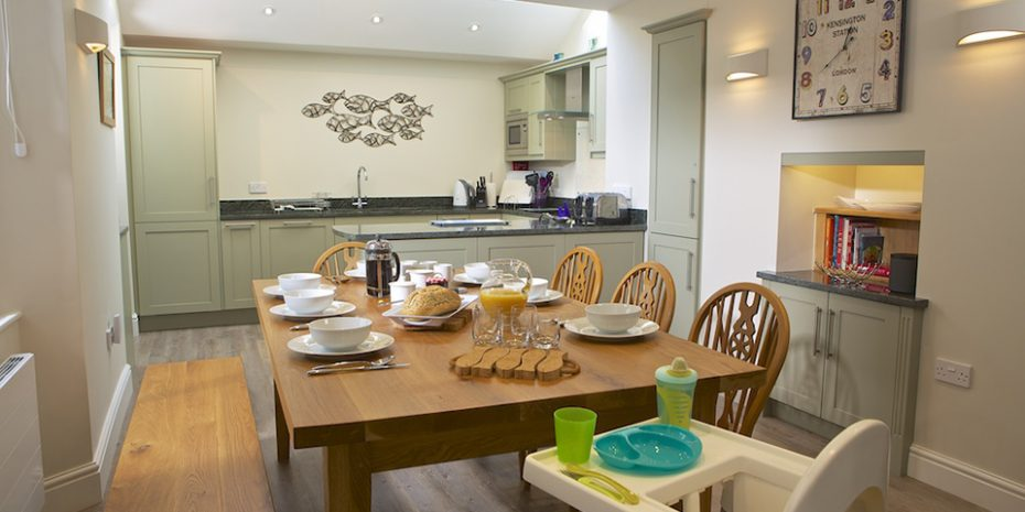 The baby friendly property Leylands in Salcombe