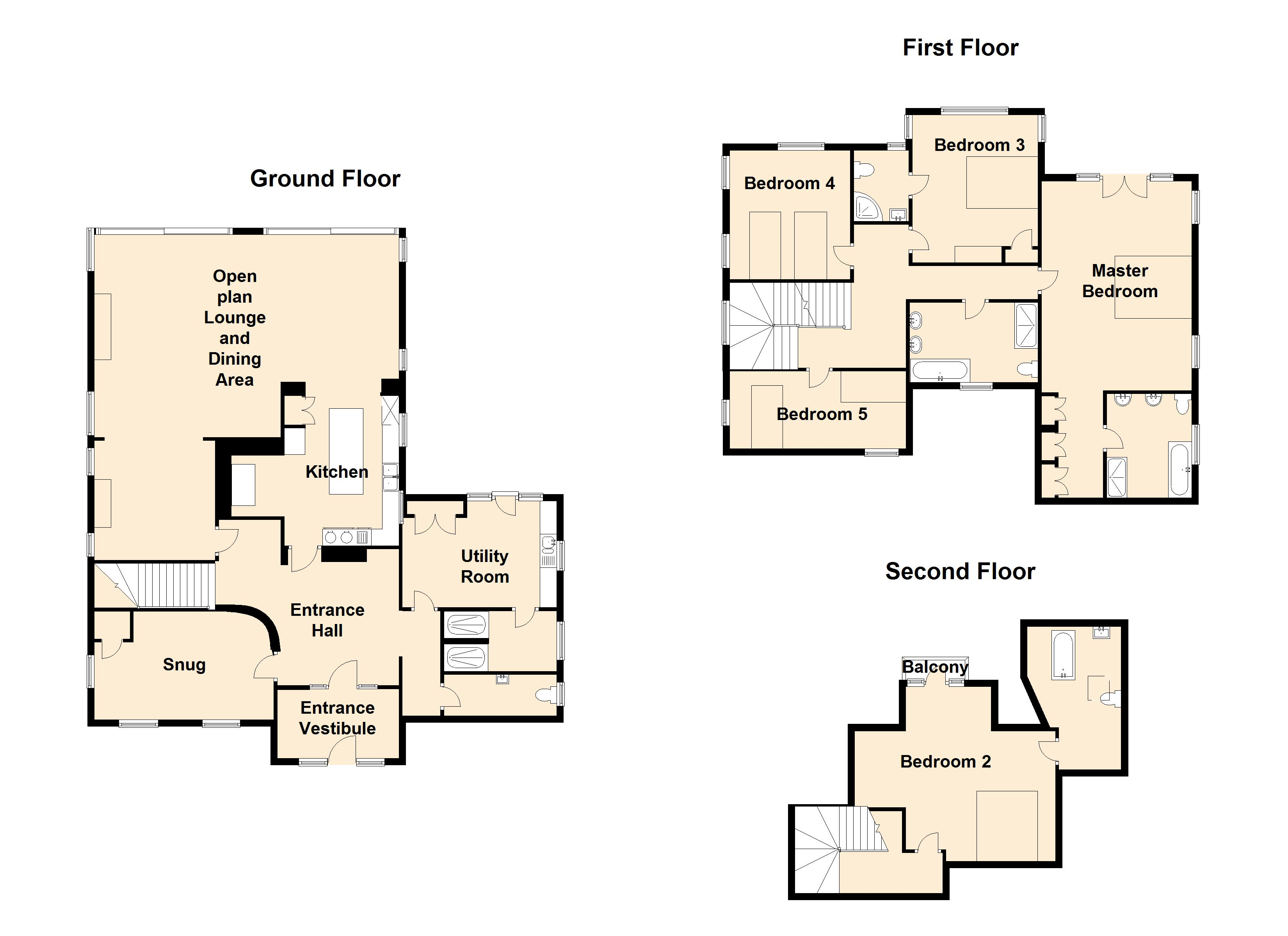 Drake House Floor Plan