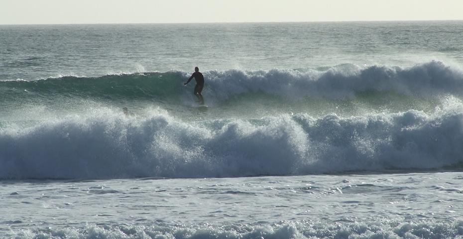 Surfing South Devon