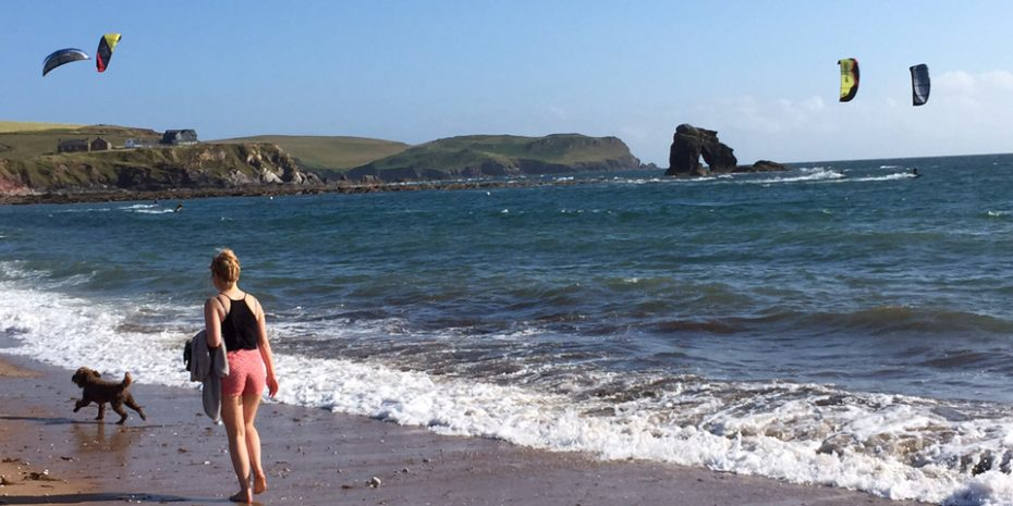Beach Activities at Hope Cove and South Milton Sands