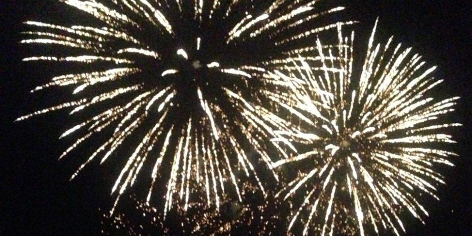 Dartmouth Regatta Fireworks