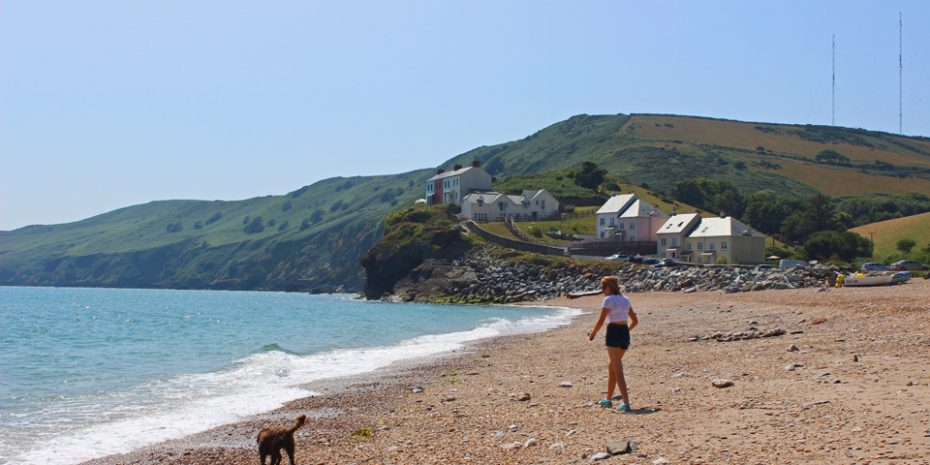 pet friendly self catering - Hallsands