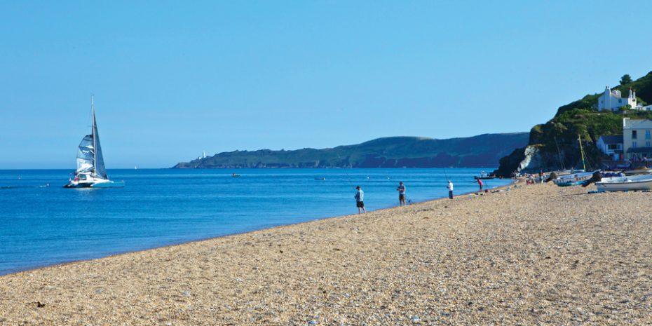 Family beach holidays - Torcross