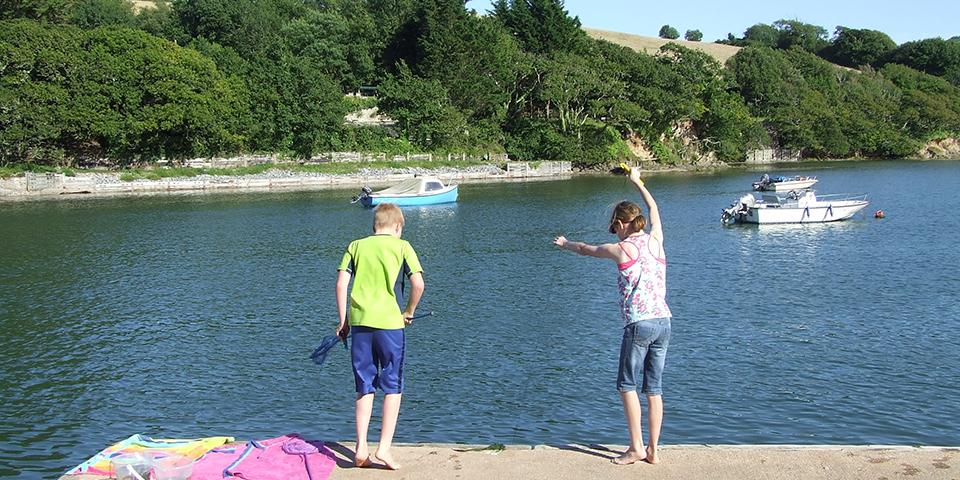 Bowcombe Crabbing