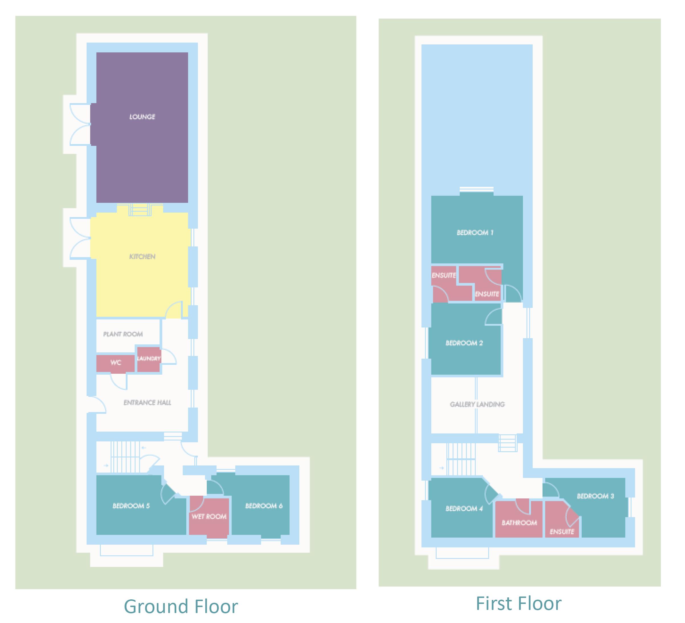 Broad Downs Barn Floor Plan