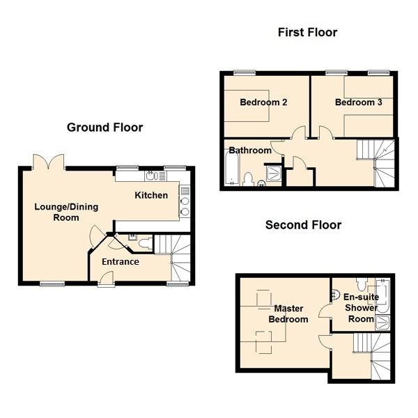 Cowslip Cottage Floor Plan