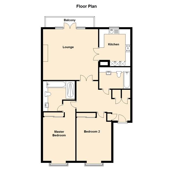 15 Dart Marina Floor plan