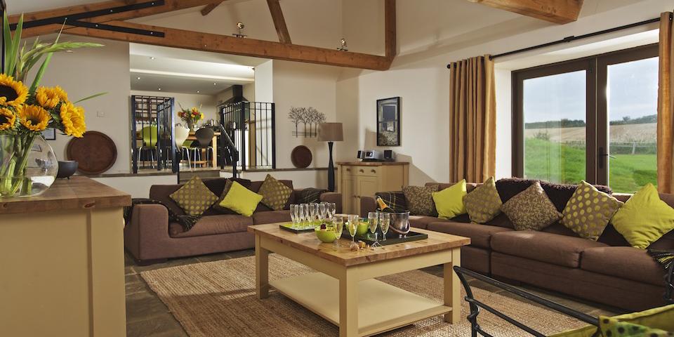 Luxury Family Holidays in Devon - Broad Downs Barn