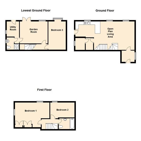 Blackstone Cottage Floor Plan