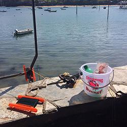 Salcombe Crabbing -