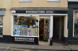 Bonningtons newsagents in Salcombe