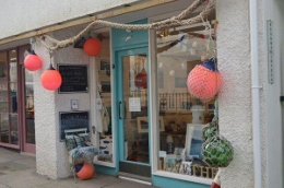 The Sea Gallery on Fore Street in Salcombe