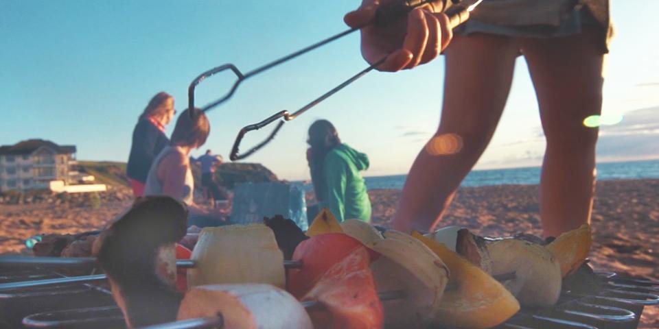 Summer in South Devon - BBQ