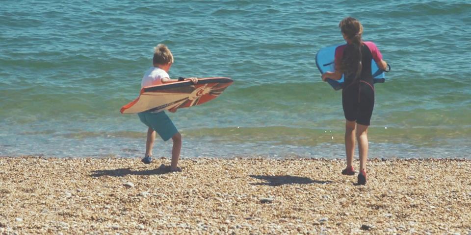 Summer in South Devon - Bodyboarding