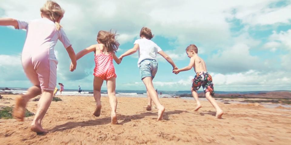 Summer in South Devon - Children