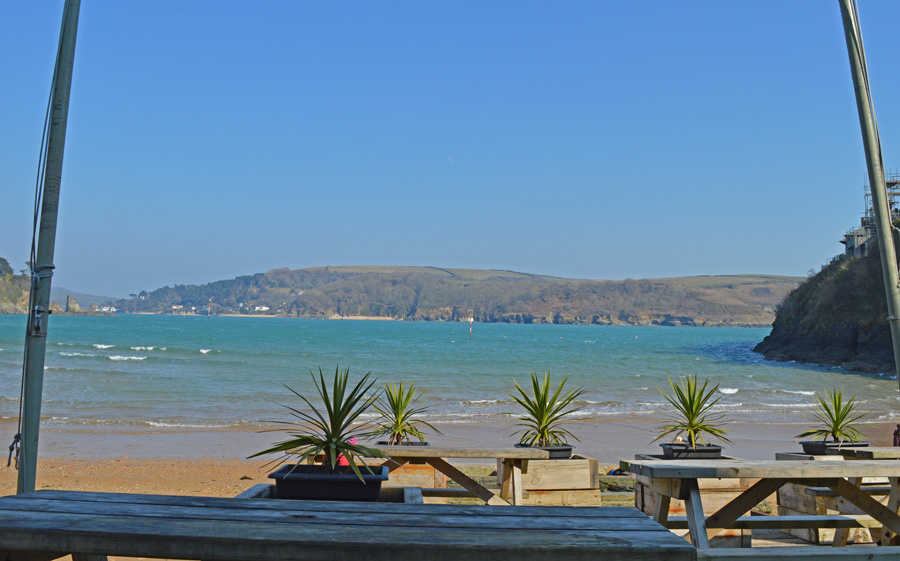 South Sands, Salcombe - beach cafe