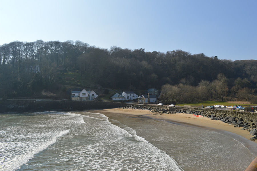 The beach at North Sands