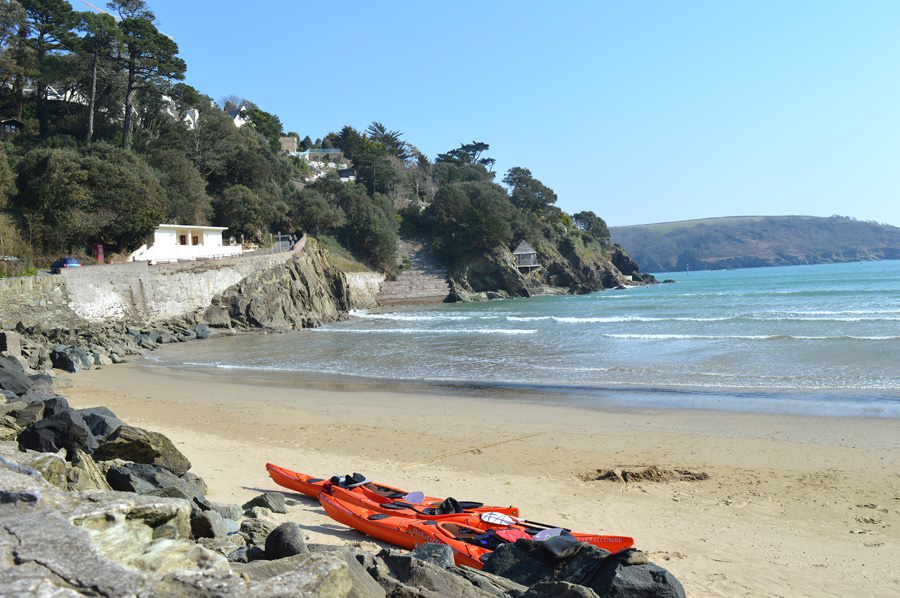 North Sands, Salcombe - a popular South Devon beach