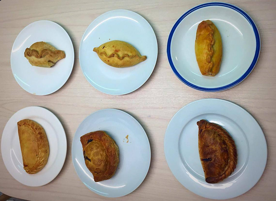 6 delicious South Devon pasties