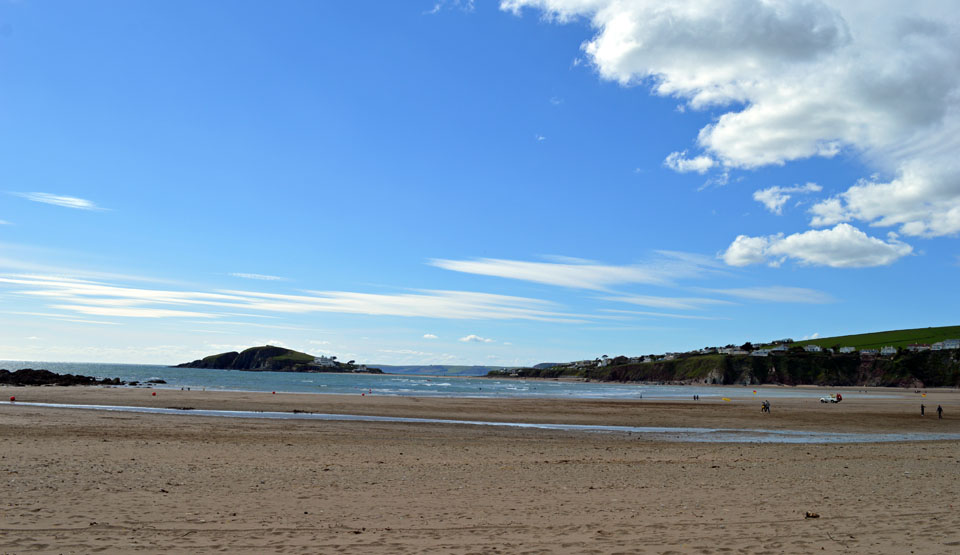 Bantham Beach located on one of the country's best-loved stretches of coastline.