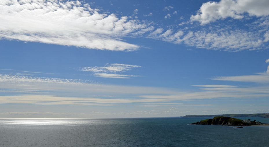 The walk from Thurlestone Sands provides beautiful views of Burgh Island