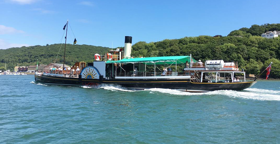 things to do in Dartmouth - The Paddle Steamer