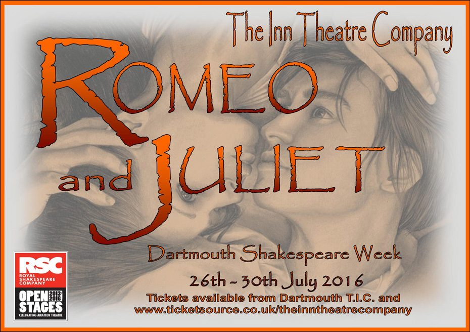 The play for this year's Dartmouth Shakespeare Week will be 'Romeo and Juliet'.