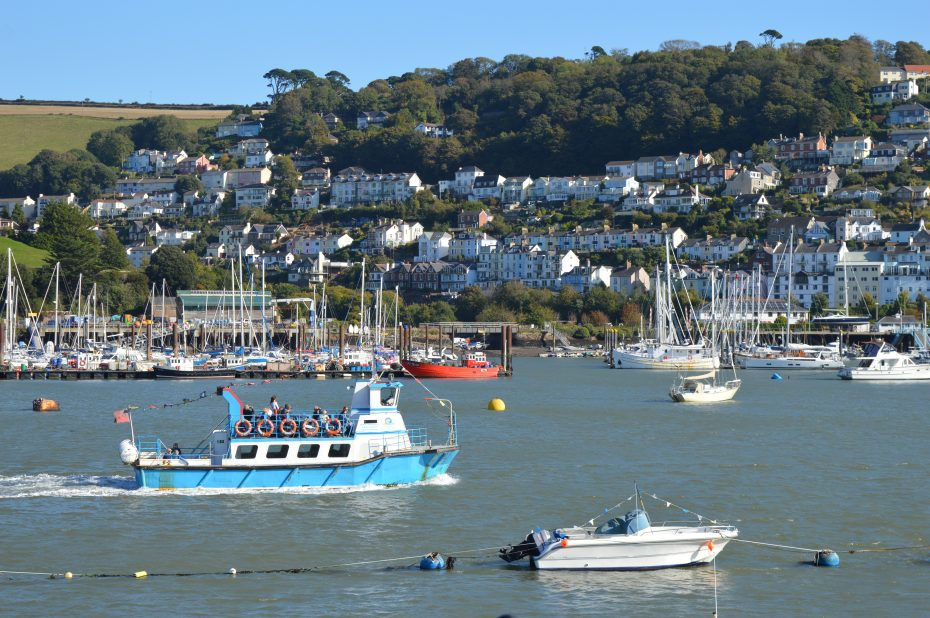 Taking a river cruise is one of our favourite things to do in Dartmouth