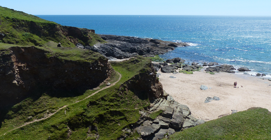 secret Devon beaches - Gara Rock