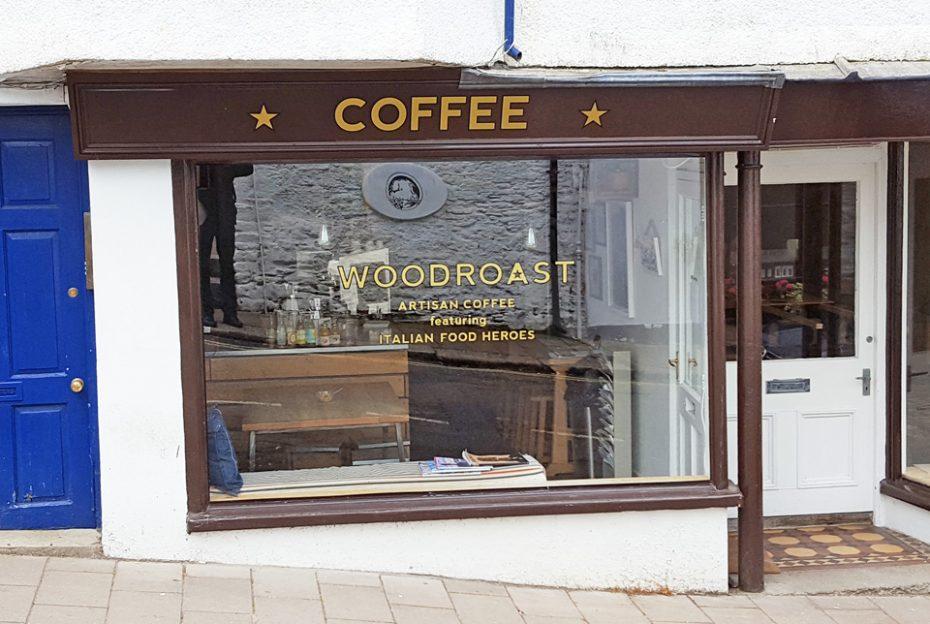 Woodroast, a popular coffee shop in Dartmouth