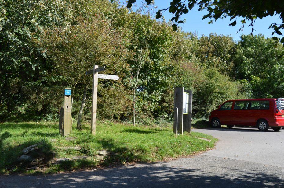 Little Dartmouth car park (National Trust)