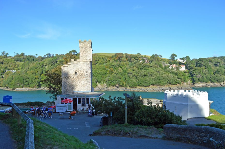 Dartmouth Castle on a sunny day