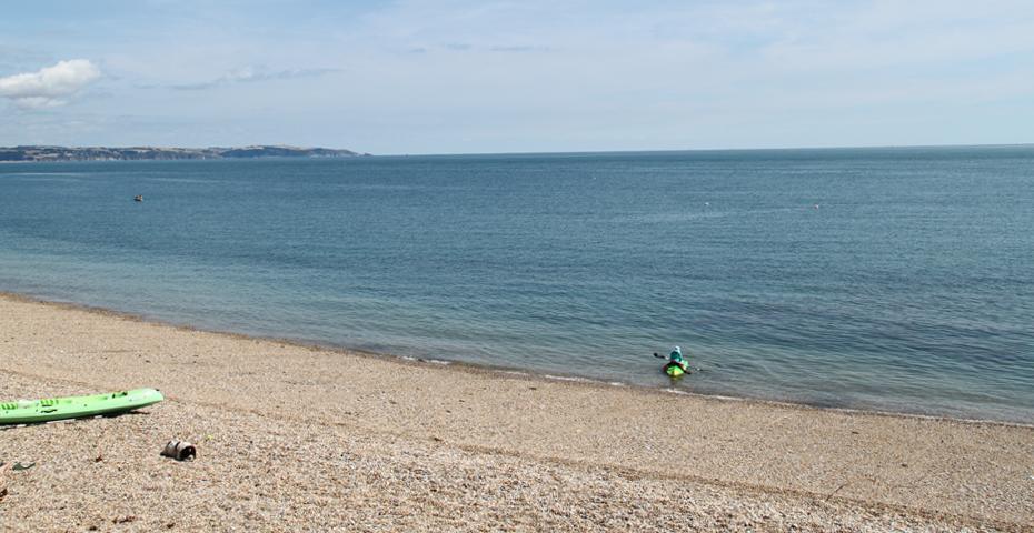Kayaking in South Devon - Hallsands