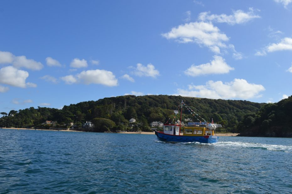 The South Sands Ferry - something else to look out for.
