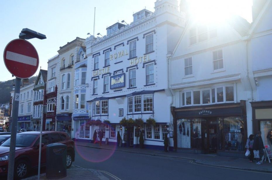 The Royal Castle Hotel, a dog-friendly pub in Dartmouth
