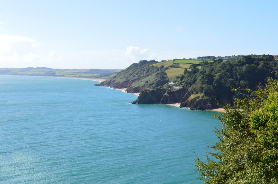 Start Bay, viewed from just above Blackpool Sands