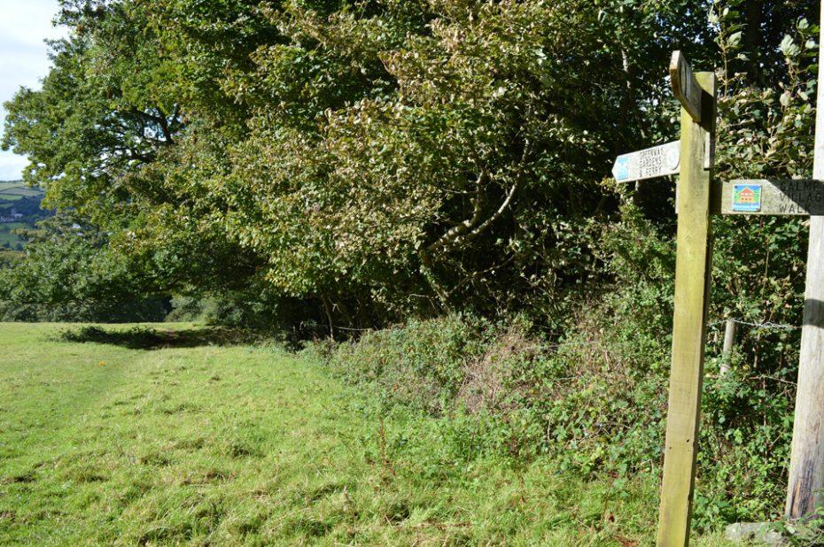 Head towards Greenway or Galmpton