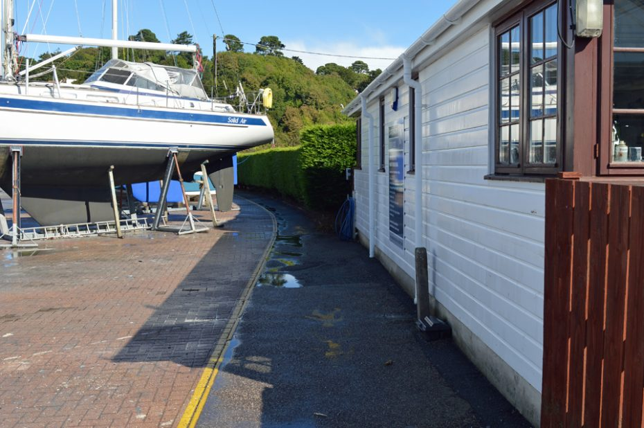 Boatyard at Kingswear