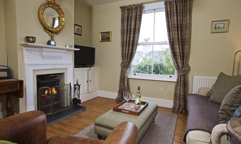 94 Above Town is an elegant property with a lovely woodburner