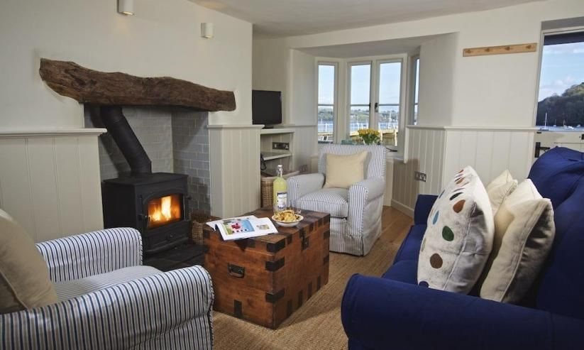 Berry Cottage has a beautiful woodburner in the lounge.