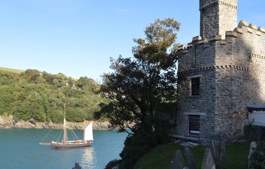 Dartmouth Castle on a sunny day