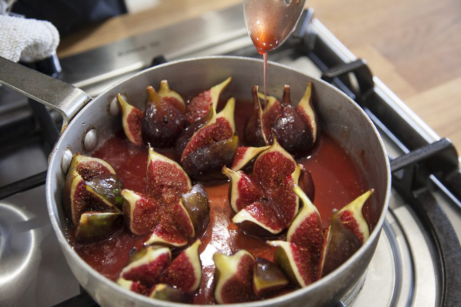 Breakfast figs by Riverford