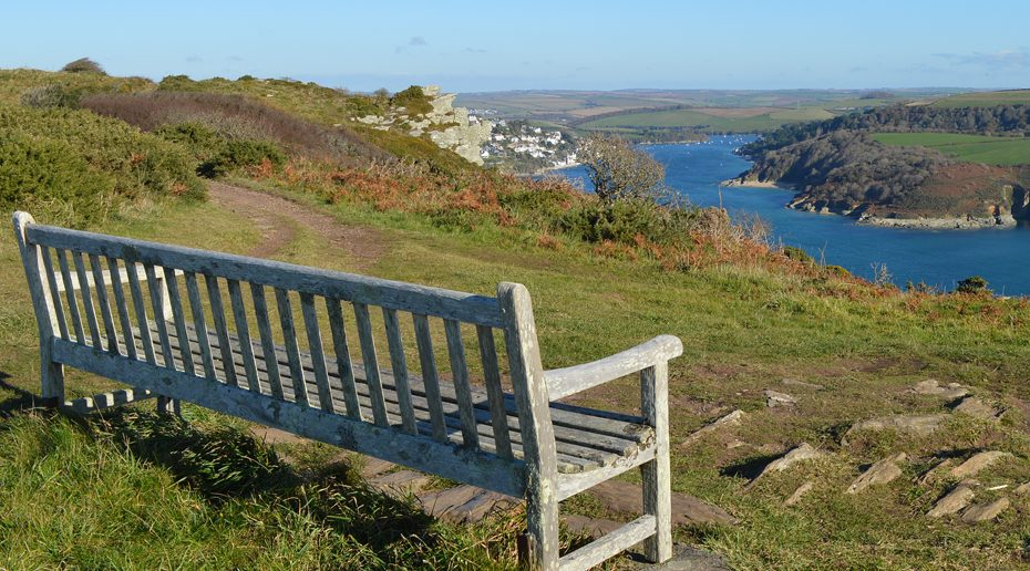 Bench above Salcombe 1