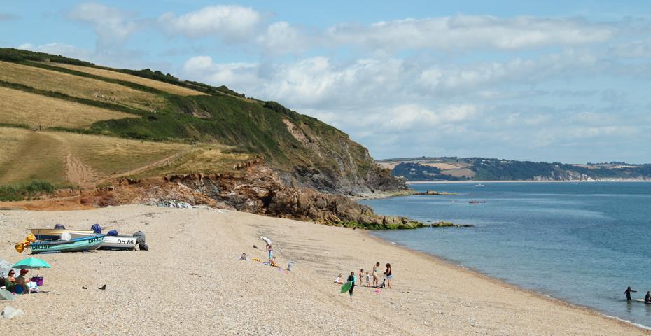 secret Devon beaches - Hallsands Beach