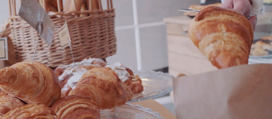 Croissants at the Bake House in Kingsbridge